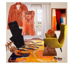 """""""Rust & Sunbeams"""" by dazzling-dazed-dayz ❤ liked on Polyvore featuring EFF, BEGA, Givenchy, CAbi, Miu Miu, Balmain and Yves Saint Laurent"""