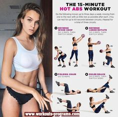 The 15 Minute Hot ABS Workout