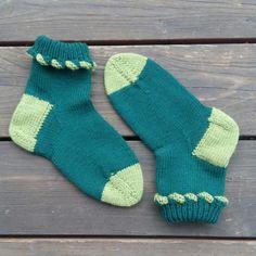 """Socken - Bündchen mit Looping von """"nadelspiel""""."""