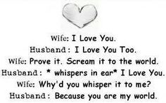 How to love a wife...