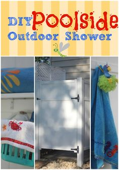 Build your own Outdoor Shower