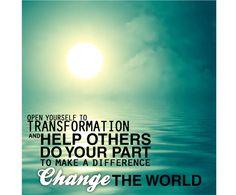change the world | kabbalah.com