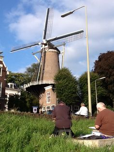 Sightseeing in Holland on our current overseas trip. Join us on our next trip to the French Provincial Countryside in 2014!