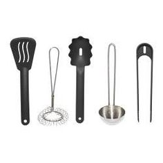 DUKTIG Utensilios cocina niño 5p, multicolor - - - IKEA