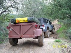High Clearance Offroad Trailer - : and Off-Road Forum Expedition Trailer, Expedition Vehicle, Camp Kitchen Box, What Are You Like, Homemade Camper, 4 Person Tent, Off Road Trailer, Roof Top Tent, Truck Design