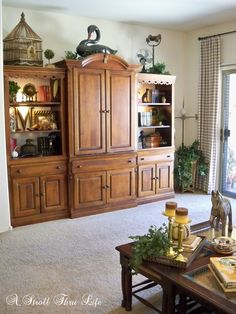 Superbe A Stroll Thru Life: Fall Home Tour 2014 The Bookcases On The Entertainment  Center.