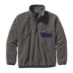 M's Synchilla® Snap-T® Pullover, Nickel w/Navy Blue (NKNV)