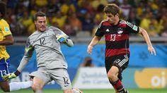 Deutschland steht im WM-Endspiel! Nach einem historischen Sieg im Halbfinale gegen Brasilien wartet nun im Finale am Sonntag Argentinien oder die Niederlande!