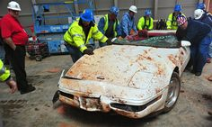 Tour the National Corvette Museum sinkhole in Bowling Green at the Corvette Bash - Autoweek