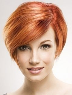 Short Red Pixie