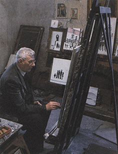 Lowry English artist, famous for his matchstick figures. The Lowry Theatre and art gallery are at Salford Quays, Manchester, England. Paint Matching, Salford, English Artists, Thing 1, Naive Art, Science Art, Urban Landscape, S Pic, Artist At Work