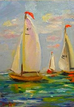 Regatta On The Cean