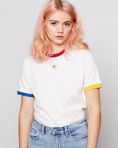 Aymmy in the Batty Girls Margaret Daisy Trim T-shirt - Clothing - New In - Womens