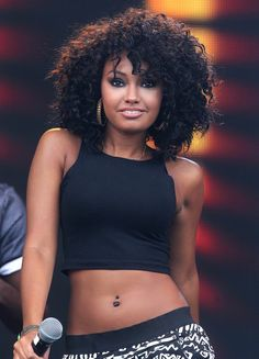 8a79a3de92 Hard working  Jade and Leigh-Anne wore near identical crop tops to show off  their toned torsos