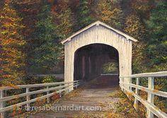 Covered Bridge of Lane County Oregon