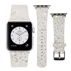 Silikon Armband Für Apple Watch 38mm Series 3 2 1 M/l Rot Uhrenarmbänder
