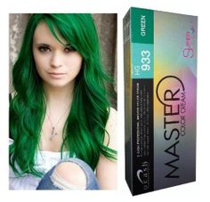 Dcash Master Cream HG 933 Green Permanent Hair Dye Super Color Beauty Styling | eBay I want purple...