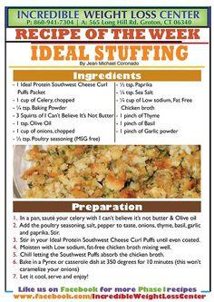 Phase 3 ideal protein breakfast spreadsheet | Ideal ...
