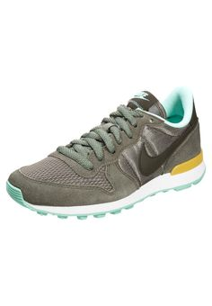 Nike Sportswear INTERNATIONALIST - Sneaker - iron green/cargo khaki/gold/medium mint - Zalando.de