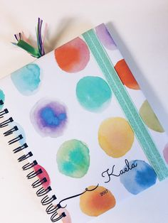 My Drifting Desk | Paper Trail Planners - Customizable planners for the upcoming new year! Splash of Serenity