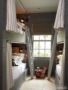 Home Inspiration from KOHLER.  Bunk beds