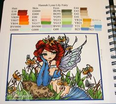 love her copic coloring book really need to do this.
