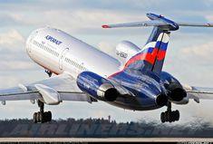 Aeroflot Russian Airlines Tupolev Tu-154M