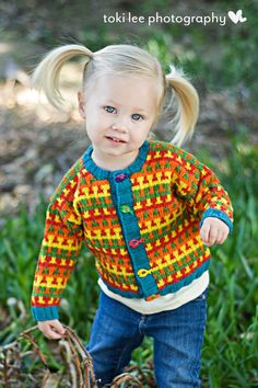 Hand Knit Baby Sweater Unisex  Childrens by YellowHouseKnits, $70.00