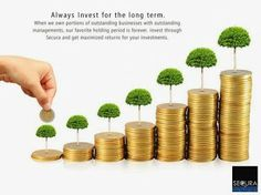 Always #invest for long term. When we own portions of outstanding businesses with managements.