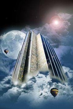 'Fantasy Tower' von Gregor Luschnat bei artflakes.com als Poster oder Kunstdruck $15.94