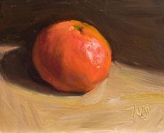 Daily painting of Clementine -- another beauty from Julian Merrow Smith Food Art Painting, Fruit Painting, Still Life Flowers, Still Life Fruit, Painting Still Life, Paintings I Love, Fruit Bowl Drawing, Happy Art, Fruit Art