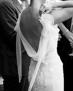 A beautiful moment in @johngallianoofficial. #weddingdress #weddingideas #oncewedstyle