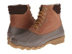 Sperry Top-Sider - Avenue Duck Boot (Tan/Brown) Men's Lace-up Boots