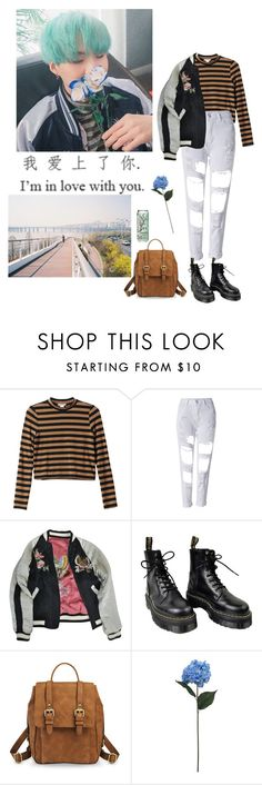 """""""Untitled #82"""" by satansoowifeu ❤ liked on Polyvore featuring Monki, WithChic, Isabel Marant, Dr. Martens, xO Design, Merona and SONOMA Goods for Life"""