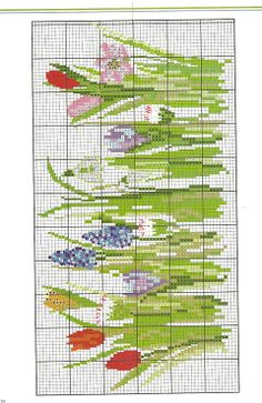 Acufactum - Fruhlingsboten for Siyuecomp Just Cross Stitch, Cross Stitch Needles, Cross Stitch Borders, Cross Stitch Flowers, Cross Stitch Charts, Cross Stitch Designs, Cross Stitching, Cross Stitch Embroidery, Embroidery Patterns