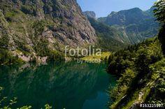 """""""Blick vom Wanderweg auf den Obersee"""""""