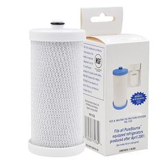 1Pack Frigidaire WF1CB Replacement RG100 Refrigerator Water Filter Pure