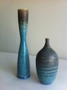 STIG Lindberg Unique Vases 1960 Museum Quality | eBay
