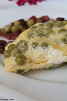 Gotowanie z pasją: omlet z groszkiem
