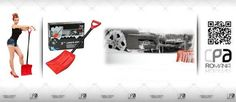 Lopata zapada    Producator: MEGA DRIVE  Descriere: lopata zapada colorata    CPA Romania - Accesorii & Piese Auto