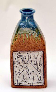 M.Wein a Henry Matisse inspiration Stoneware Vase