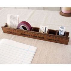 Ruler Desk Organizer
