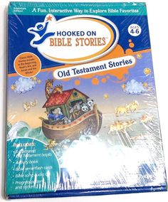 Hooked On Bible Stories Old Testament Series Ages 4-6 From Hooked On Phonics New