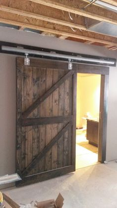 Garage Doors, Outdoor Decor, Projects, Home Decor, Houses, Log Projects, Homemade Home Decor, Decoration Home, Interior Decorating