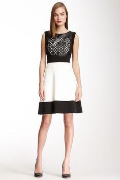 """Julia Jordan Sleeveless Cutout Shift Dress on HauteLook"" $59.00"