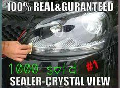 Cloudy Yellowish Lens Headlight Restoration Repair Kit for Tata