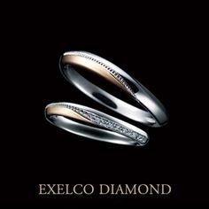 CORONET(コロネット)【Pt+PG】/エクセルコ ダイヤモンド|「Ring Link Ring」で婚約指輪・結婚指輪を探す!