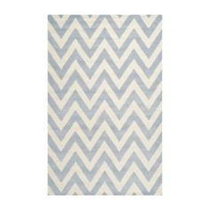 Stella Textured Area Rug in Light Blue