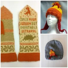 These geeky knitting patterns inspired by Doctor Who, Firefly, Harry Potter and other obsessions are a great way to show the world what you love.: Firefly Knitting Patterns