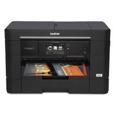 Business Smart Plus MFC-J5720DW Multifunction Inkjet Printer, Copy/Print/Scan. Sold as 1 EA. Low cost printing with available Super High Yield replacement ink cartridges (sold separately). Wireless printing from a mobile device via AirPrintTM, Google Cloud PrintTM, Brother iPrint&Scan and Wi-Fi DirectTM. New multipurpose tray expands total paper capacity for different paper weights, letterhead, envelopes and photos. Easily navigate onscreen menus on an intuitive touchscreen display with...